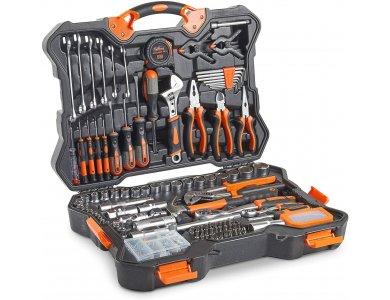 VonHaus Hand Tool Kit 256pc Premium Tool & Socket Set- 15/180