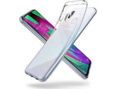 Spigen Samsung Galaxy A40 Liquid Crystal case, clear - 618CS26245