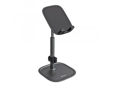 Baseus Literary Youth Desktop Bracket Holder / Stand for Smartphone/Tablet, Black - SUWY-A01