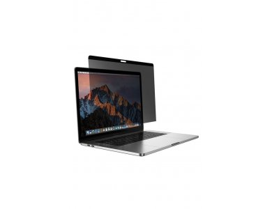 """Benks Macbook Pro 15"""" (2016-2018) Magnetic Privacy Tempered Glass με Installation frame, Anti-Spy"""