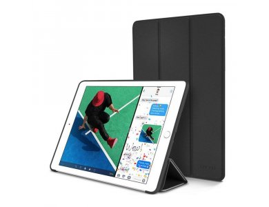 """Tech-Protect  iPad 2017/2018 9.7"""" Trifold case with Auto Sleep/Wake, Stand, Hard Back Cover, Black"""