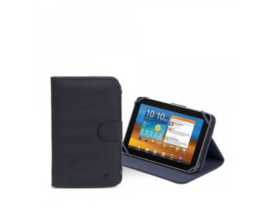 """Rivacase Biscayne 3312 Flip Cover/Stand Case Tablet up to 7"""" Universal, Black"""