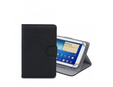 """Rivacase Orly 3012 Flip Cover/Kick Stand Case for Tablet up to 7"""" Universal, Black"""