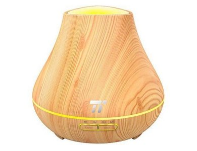 TaoTronics TT-AD004 Oil Diffuser Συσκευή Αρωματοθεραπείας, Light Wood