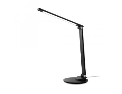 TaoTronics TT-DL19 LED Desk Λάμπα με Touch Control & USB Θύρα, 5 Color Modes, 5 Brightness Levels, Μαύρη