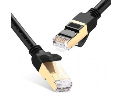 Ugreen S/FTP Cat.7 Καλώδιο Ethernet 25μ., Μαύρο - 11224