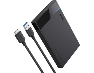 "Ugreen External Hard Drive Enclosure USB 3.0 to SATA III Adapter, Case for 2.5"" SATA external hard drive - 30848"
