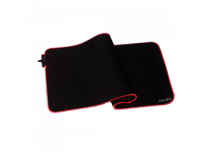Nordic XXL Gaming Mouse Pad (90x40x0,4cm) με RGB LED, Μαύρο - GAME-N1036