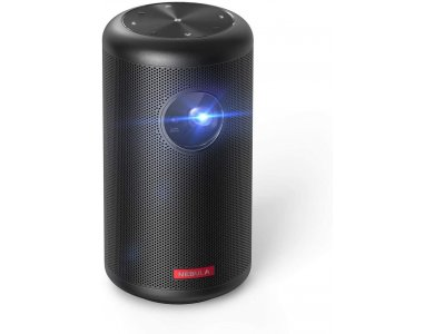 Anker Nebula Capsule II Wi-Fi 720p DLP Mini Projector, Android TV 9.0, 200 ANSI Lumens, 8W Speaker, 2.5-Hour Playtime - D2421G11