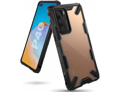 Ringke Fusion X Huawei P40 Θήκη, Μαύρη