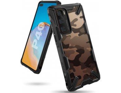 Ringke Fusion X Huawei P40 Θήκη, Camo Black