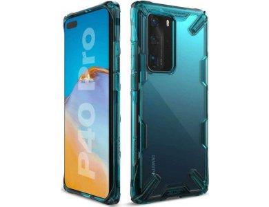 Ringke Fusion X Huawei P40 Pro Θήκη, Turquoise Green