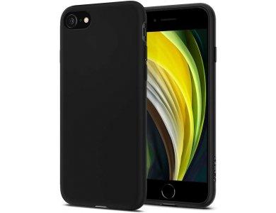 Spigen iPhone SE 2020 / 8 / 7 Θήκη Liquid Crystal, Matte Black - 042CS21247