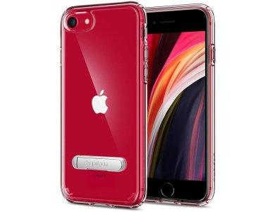 Spigen iPhone SE 2020 / 8 / 7 Ultra Hybrid S Θήκη, Crystal Clear - 054CS22213