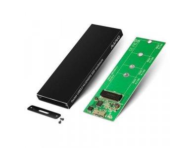 Maiwo K16N M.2 SSD Enclosure, USB C 3.1 Gen1, Εξωτερική Θήκη Σκληρού Δίσκου M-Key/M+B Key, 5Gbps, Μαύρο
