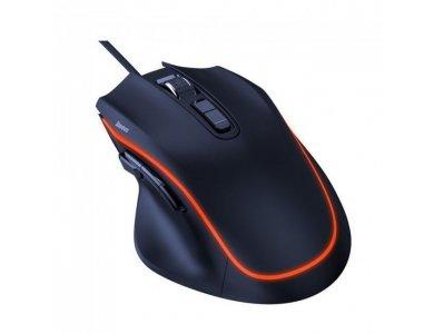 Baseus Gamo Backlit Ενσύρματο Gaming Mouse, Optical 6.400DPI Adjustable, 9 Programmable Buttons - GMGM01-01