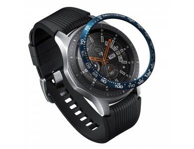 Ringke Galaxy Watch 46mm / Gear S3 Bezel Ring Blue, Aluminum - GW-46-08, Blue