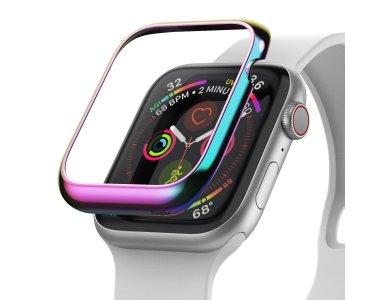 Ringke Apple Watch 4 / 5 (44mm) Bezel Ring Neon Chrome, Stainless Steel - AW4-44-08