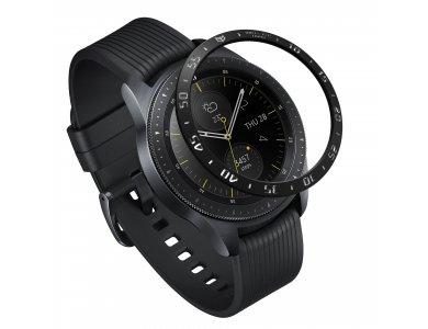 Ringke Galaxy Watch 42mm / Gear Sport Bezel Ring Black, Stainless Steel - GW-42-03