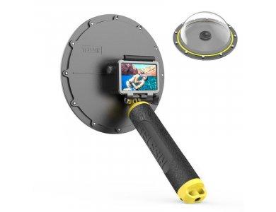 Telesin Osmo Action Diving Dome με Αδιάβροχη Θήκη + Floating Bobber Handle + Trigger - OS-DMP-001