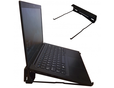 """Orzly Universal Laptop Stand, for Laptops 13-18"""", Black"""