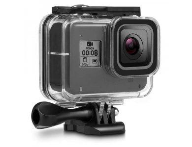 Tech-Protect GoPro Hero 8 Waterproof Case/Θήκη Αδιάβροχη για Action Camera GoPro, Διάφανη