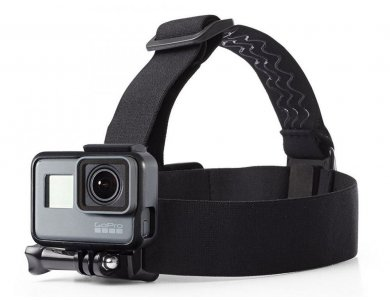 Tech-Protect GoPro HEADSTRAP Helmet/ Head Mount for Action Camera GoPro, Black
