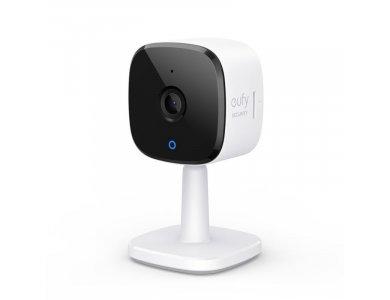 Anker eufyCam IP Camera 2K, 3MP, Νυχτερινή όραση, 2-Way Audio, WiFi και ανίχνευση κίνησης με Human & Pet AI - T84003W2