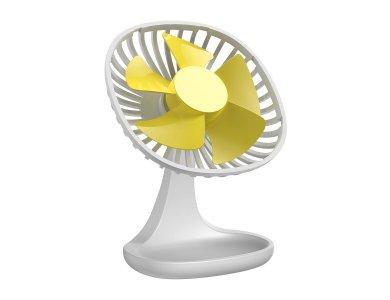 Baseus Pudding-Shaped Fan, Ανεμιστήρας Γραφείου USB, Λευκό
