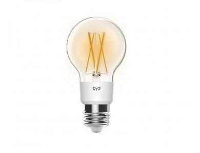 Yeelight Filament Smart Light Bulb LED WiFi, Warm White 6W E27 Dimmable (No hub needed) - YLDP12YL