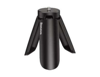 "Baseus Μίνι Τρίποδο & Σταντ για Smartphone / Camera / Gimbal, με υποδοχή 1/4"", Μαύρο - SUYT-A0G"