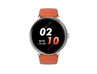 """Blackview X2 Smartwatch 1.3"""" IPS HD Screen, Real Time Health Monitoring, 9 Sports Modes, IP68, HR Blood Pressure, Silver"""