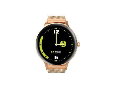 """Blackview X2 Smartwatch 1.3"""" IPS HD Screen, Real Time Health Monitoring, 9 Sports Modes, IP68, HR Blood Pressure, Gold"""