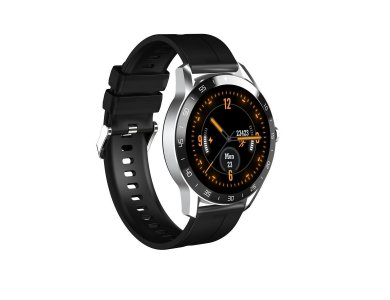 """Blackview X1 Smartwatch 1.3"""" IPS HD Screen, Real Time Health Monitoring, 9 Sports Modes, IP68, HR Blood Pressure, Black + Strap"""