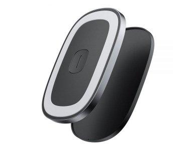 Baseus Wireless Magnetic Car Reading Light, Black - CRYDD01-01