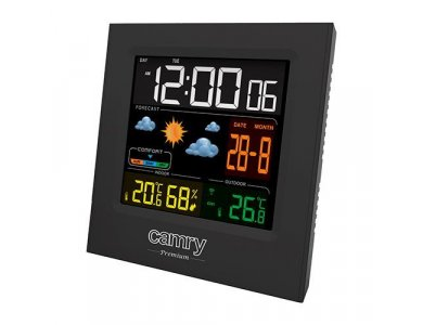 Camry Weather Station, with Wireless external probe, Clock, Alarm and Date - CR1166
