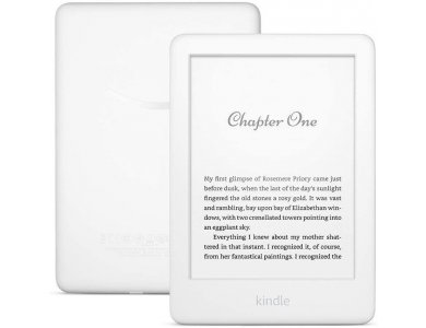Amazon Kindle 10th Generation (Kindle 2019-2020), High-Resolution Display (167 ppi), Built-in Light, Λευκό (No ADs Edition)