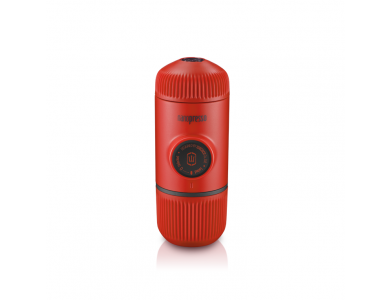 Wacaco Nanopresso GR Portable Espresso Machine, with Protectice Case, Red Patrol