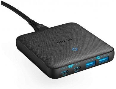Anker PowerPort Atom III Slim - 63W 4-Port USB Charging Hub με 2 PD/PIQ3.0 Θύρα 45W και GaN - A2046311