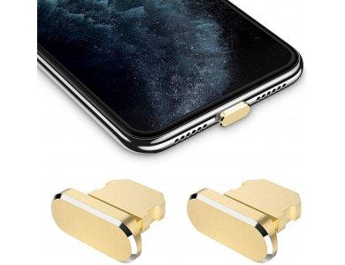 iMangoo Dust Plug Cover Lightning for iPhone / iPad / iPod, Gold