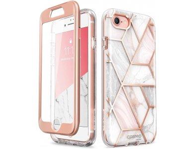 i-Blason iPhone SE 2020 / 8 / 7 Cosmo Θήκη, Marble Pink