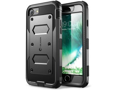 i-Blason iPhone SE 2020 / 8 / 7 Armorbox Full-Body Rugged Θήκη, Μαύρη