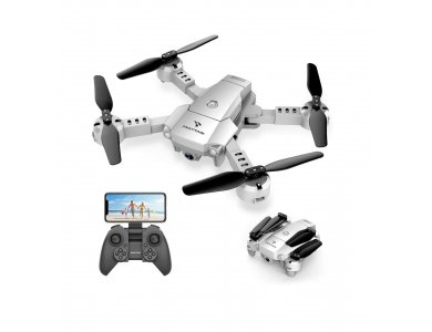 Snaptain A10 Drone HD Camera 720p, Altitude Hold & Headless Mode, Silver