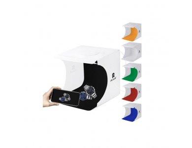 Puluz Light Box LED shadow-less tent, 20x20cm - PU5022