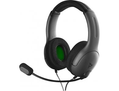 PDP LVL40 Gaming Headset Stereo Wired for Xbox One, Grey - 048-141-EU