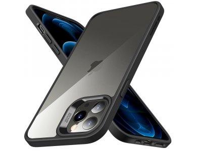 ESR iPhone 12 / 12 Pro Classic Hybrid Θήκη Διαφανής, Μαύρη