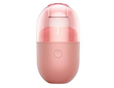 Baseus C2 Ηλεκτρικό Μίνι Σκουπάκι 1000Pa, Επαναφορτιζόμενο, Pink - CRXCQC2-04