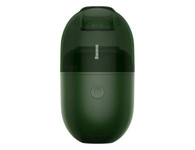 Baseus C2 Ηλεκτρικό Μίνι Σκουπάκι 1000Pa, Επαναφορτιζόμενο, Green - CRXCQC2-06