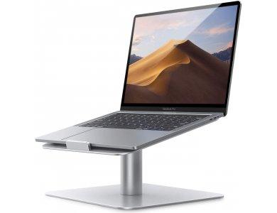 "Lamicall L Laptop Stand με Περιστρεφόμενη Βάση για Laptop / Macbook 10-17.3"", Silver"