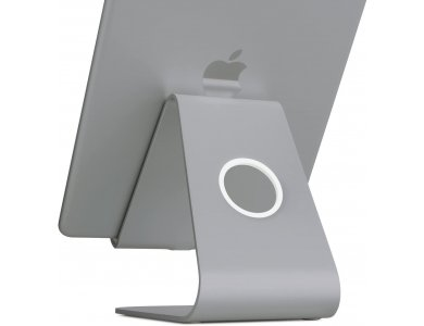 """Rain Design mStand holder/Stand Tablet/iPad adjustable for devices up to 13"""", Space Grey - 10052"""